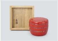 flat natsume(tea caddy) by taguchi yoshikuni