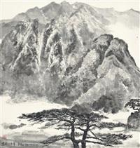 scenery of mount jinggang by wu guanzhong