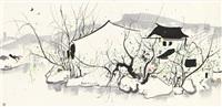 dwellings by the water by wu guanzhong