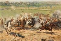 batalla by alphonse marie de neuville