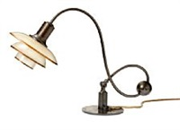 ph-2/2 piano lamp by poul henningsen