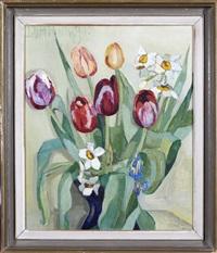 flower still-life by lydia dmitrievsky