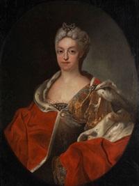 bildnis der kurfürstin maria amalia von bayern by joseph vivien