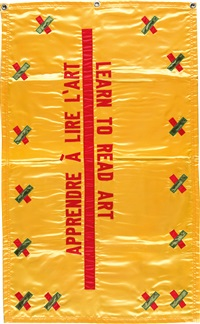 learn to read art - appendre à lire lart by lawrence weiner