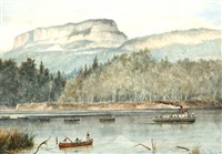 wolseley expedition, kaministiquia river, june 5th 1870 by william wallace armstrong
