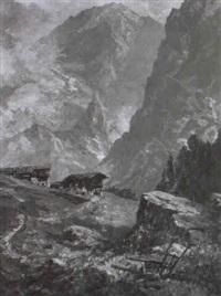 sommer im hochgebirge by otto ackermann-pasegg