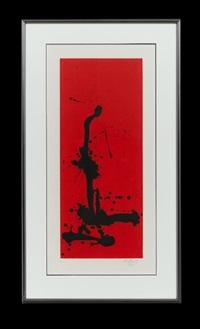 red sea iii by robert motherwell
