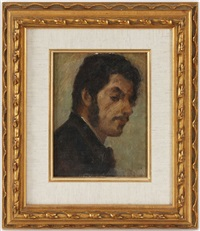 portrait d'homme by antonio mancini