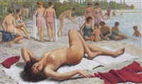 am strand by william-victor aubert