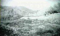 herbstlandschaft by walter prell