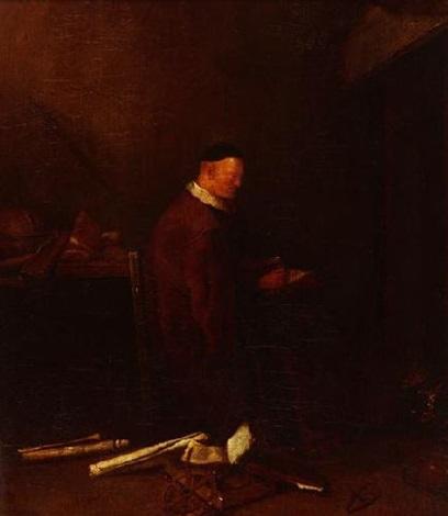 der philosoph im studierzimmer by jacob van spreeuwen
