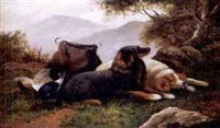 faithful companions after the hunt by william benson