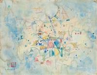 abstrakte komposition by shoichi hasegawa