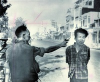 execution in saigon - a viet cong officer is executed with a single pistol shot in the head by south vietnam's national police by eddie adams