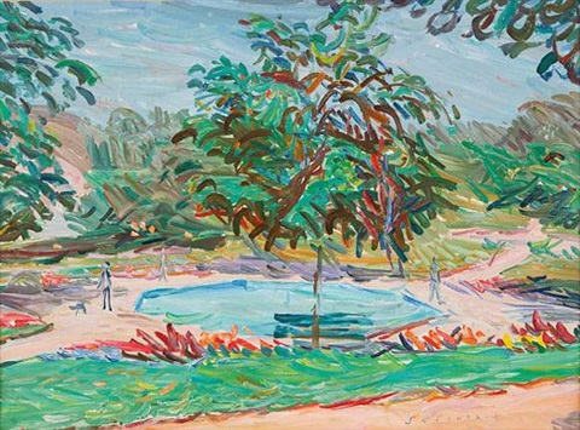le jardin de lesplanade à aubonne by emile sabouraud