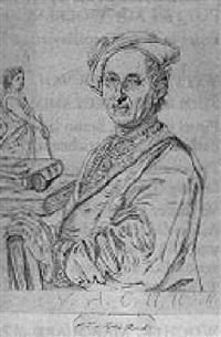 bildnis des professors eucharius gottlieb rink by bernhard vogel