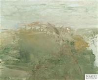 abstraktion in beige-grau by liu xun