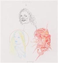 lesbos (ilustración para las flores del mal) by pat andrea