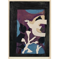 l'oiseau by georges braque