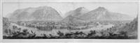 panorama de interlaken et unterseen prise de la goldeg by rudolf huber