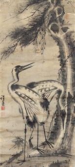 松鹤图 by xu yuan