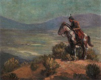 indian scout by charles gottmann