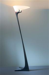 stehleuchte montjuic by santiago calatrava