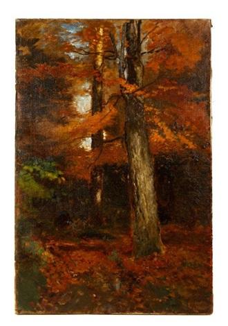 fall landscape by arthur parton
