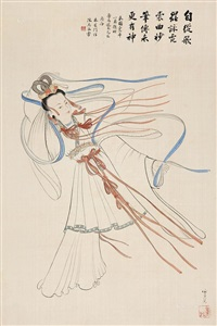 霓裳羽衣舞 (lady) by zhu xingmen and chen qicai