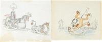 pluto (pair) by disney studios
