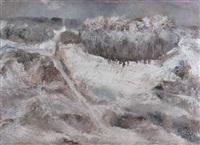 winterlandschaft (kraichgau) by emil wachter