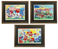 the buckeye suite (3 works) by leroy neiman
