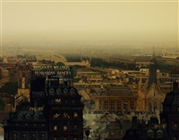 黄昏中的巴黎 (paris in the sunset) by hiro yamagata