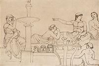 mytologisk figurscen by jonas akerstrom