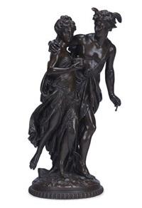 pandora and mercury by jean louis gregoire