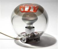 una lampada da tavolo by pierre cardin