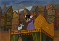 the hunchback of notre dame by disney studios