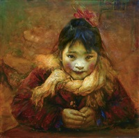 small girl by liu derun