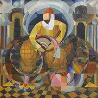 orientalisches motiv by erich adamson-eric