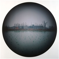 pond by bai guanghua