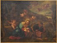 sacra famiglia con cherubini by anonymous (18)