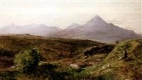 abend im schottischen hochland by p. dunbar