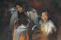 butter tea by xia baoyuan
