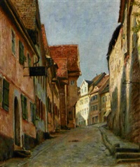 stejl gade i rothenburg by christian tom-petersen