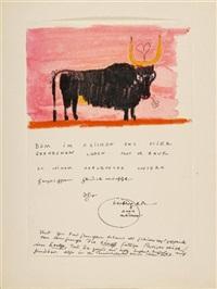 ein stier für dr. baur by josef oberberger