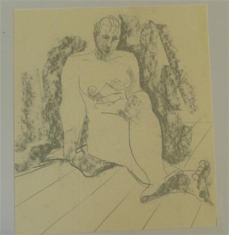 nude studies (7 works) by hugo dachinger