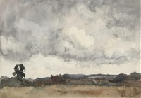 clouds, kent (study) by james herbert snell