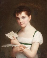 retrato de una niña by pauline auzou