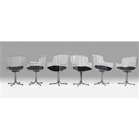six armchairs by pace manufacturing (co.)