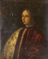 portrait eines venezianischen edelmannes by domenico tintoretto